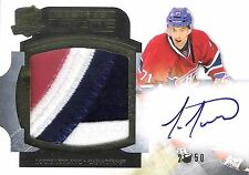 Louis Leblanc 2011-12 The Cup Limited Logos Autograph & Logo Patch 25/50 Auto RC