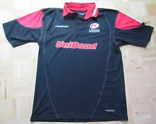 Saracens FC shirt jersey by REEBOK 2002-2003 Rugby Union /men/black SIZE L