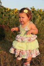 Boutique Oilily teacup fairy  girls dress 18-24   86
