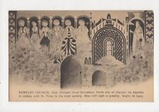 Kempley Church Gloucestershire Vaulting Of Chancel Vintage Postcard 754a