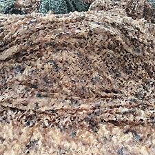 "1* 2M 39*78"" Woodland Camouflage Net Camo Netting Cover Camping Military Hunting"