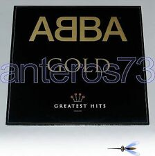 """ABBA """"GOLD - GREATEST HITS"""" RARE 2LP MADE IN ITALY 1992 - MINT"""