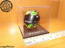 POL ESPARGARO MOTO-GP AGV HELMET 1/5 2013 MONSTER MINT