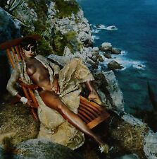 Helmut Newton Sumo Photo 50x70 Supermodel Iman Nude Vogue 1989, Legs coming home