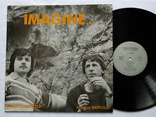 Michel CORDEBOEUF/Jean Luc RAFFOUX Imagine LP JLM 1785 (1985) chanson folk - EX+
