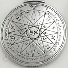 MERCURY PENTACLE TALISMAN Solomon Seal of Magic Pendant Success Amulet Necklace