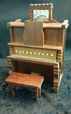 Vintage wooden piano MUSICBOX BY SANKYO