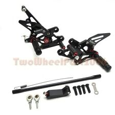 Adjustable Rearsets Foot Rest Pegs Rear Set For YAMAHA FZ1 06-14 FZ8 10-13 2012