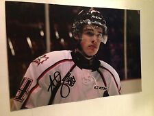 Alexandre Fortin SIGNED 4x6 photo ROUYN NORANDA HUSKIES / CHICAGO BLACKHAWKS #3