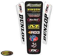 Rear Fender Graphics Fits Suzuki Rm125 Rm250 1997 1998 1999 2000