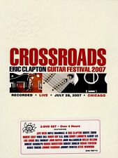 ERIC CLAPTON CROSSROADS GUITAR FESTIVAL 2007 2 DVD ALL REGIONS NEW