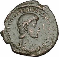 Constantius Gallus 351Ad Authentic Ancient Roman Coin Battle Horse man i50752