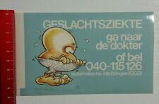 Aufkleber/Sticker: Geslachtsziekte ga naar de dokter (080416134)