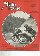 MOTO REVUE N°1.149 LE GRAND PRIX DE FRANCE / 125 LUBE