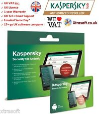 Kaspersky Internet Security pour android smartphone / tablette 2016 même jour uk Lic