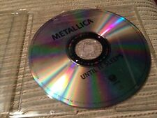METALLICA - ULTIL IT SLEEPS CD SINGLE 1 TRACK UK PROMO HEAVY METAL