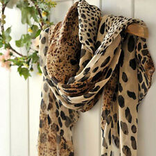 Womens Ladies Long Chiffon Neck Scarf Scarves Wrap Soft Stole Shawl Balaco.2u