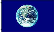 EARTH FLAG Planet World Peace CND Festival Day Night