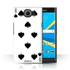 STUFF4 Back Case/Cover/Skin for BlackBerry Priv/Playing Cards