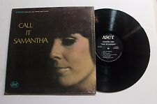 SAMANTHA JONES Call It Samantha LP Ascot Rec. ALS-16027 US 1968 VG+ IN SHRINK 7B
