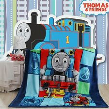 NEW Thomas and Friends Plush Soft Silky Flannel Blanket Throw Bedding Cartoon