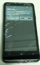 HTC HD 7 - 8GB - Black (T-Mobile) Smartphone - Bad Digitizer Cracked Glass