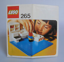 LEGO® Bauanleitung 265 Badezimmer Homemaker Sets Alt Vintage BA Anleitung