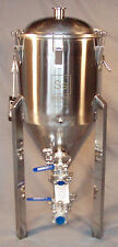 SS Brewing Tech 7 G Conical Fermenter Stainless Fermentor Beer Wine Brew Bucket