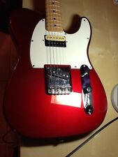METALLIC RED FENDER SQUIER TELECASTER ELECTRIC Vintage Modified GUTAR