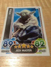 STAR WARS Force Awakens - Force Attax Trading Card #006 Yoda