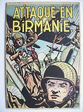Buck Danny attaque en Birmanie Dupuis 1953 TBE 2ème édition