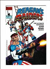 "Reagan's Raiders No.1  : 1986 :   : ""Back To Zero!"" :   Awesome Cover! :"