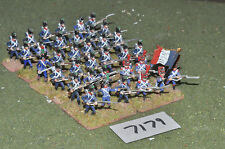 25mm napoleonic french infantry 36 figures (7179) painted metal