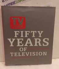 TV GUIDE FIFTY YEARS OF TELEVISION HARDCOVER BOOK USED