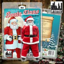 """2015 FIGURES TOY COMPANY SPECIAL EDITION SANTA CLAUS 8"""" ACTION FIGURE MOC NEW"""