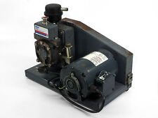 Welch DuoSeal Vacuum Pump Dual Stage Belt-Drive 115 Volt-AC - USED (1400)