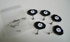 PACK OF 5 PC21 QUARTZ WATCH MOVEMENTS WITH STEM AND HANDS
