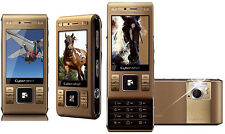 Sony Ericsson CyberShot C905 GOLD (Ohne Simlock) 3G WLAN 8,1MP FLASH GPS TOP OVP