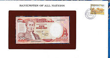 Banknotes of All Nations Colombia 1983 100 Pesos P426a.1 UNC Birthday note 2002