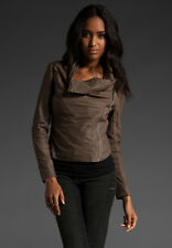 Muubaa Luxi Drape Jacket in Mink. RRP £379. M0126. UK 8.