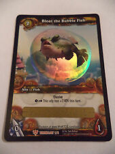 World of Warcraft TCG Loot Card Bloat the Bubble Fish Unscratched WoW
