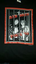 """Rare Ace Frehley / Peter Criss from KISS 1995 """"Bad Boys"""" tour shirt"""