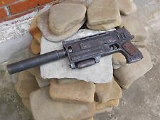Radioactive fallout Gun 10 mm rusty pistol 3 silencer post apocalyptic weapon