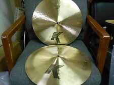 "Zildjian K 16"" Light Hi Hats #5314U"