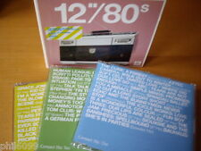 "12"" 80S VOL 1 (2004) 3-CD: VISAGE YAZOO TOM TOM CLUB BLACK GRACE JONES NR MINT"