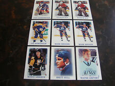 1988-89 O-Pee-Chee Hockey---Mini's---Lot Of 9---Dupes---See List---NrMt