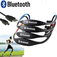 New Bluetooth  Wireless Headset Earphone Sports Headphone With Mic 3.0 Bluetooth