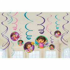 Disney Dora the Explorer Swirl Decorations For Birthday Party Supplies Favor Pac