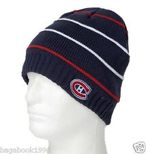 Men's NHL Montreal Canadiens Fleece Lined Licensed Toque / Beanie    GRX9