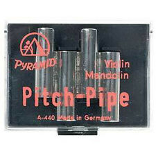 Pyramid Metal Pitch Pipe for Viola and Cello